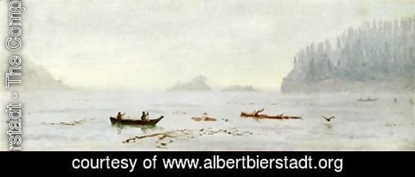 Albert Bierstadt - Indian Fisherman