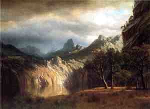 Albert Bierstadt - In Western Mountains
