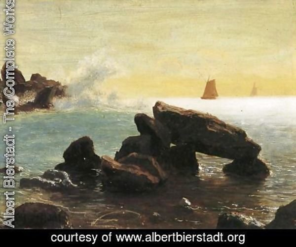 Albert Bierstadt - Farralon Islands  California