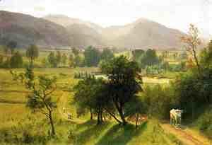 Albert Bierstadt - Conway Valley  New Hampshire
