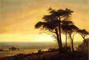Albert Bierstadt - California Coast
