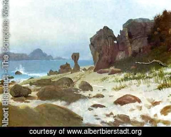 Albert Bierstadt - Bay Of Monterey