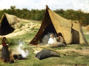 Albert Bierstadt - Indian Camp