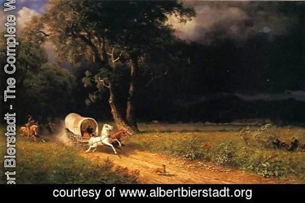 Albert Bierstadt - The Ambush