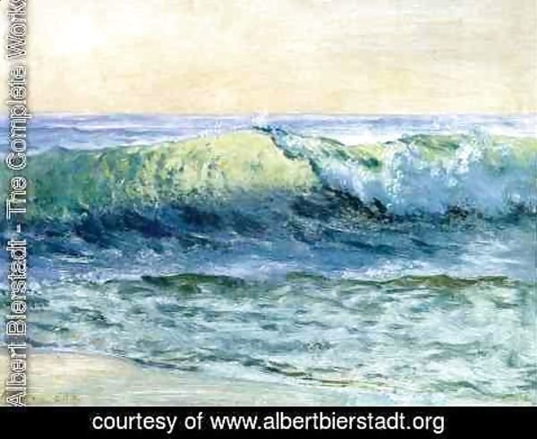 Albert Bierstadt - The Wave
