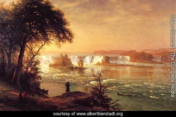 The Falls Of St  Anthony