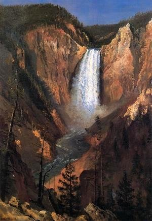 Albert Bierstadt - Lower Yellowstone Falls