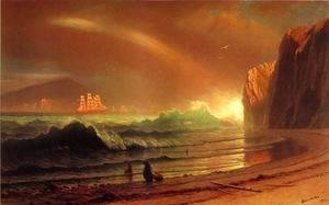 Albert Bierstadt - The Golden Gate