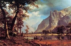 Albert Bierstadt - Yosemite Valley