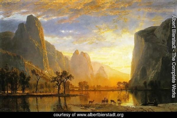 Valley of the Yosemite 1864