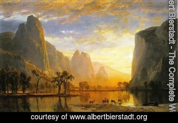 Albert Bierstadt - Valley of the Yosemite 1864